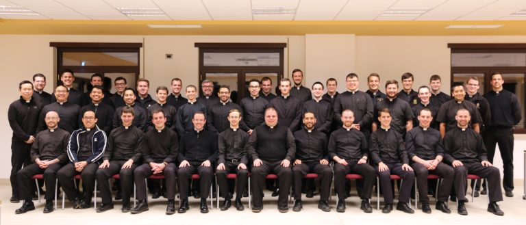 The 2017 Ordination Class of the North American College in Rome.