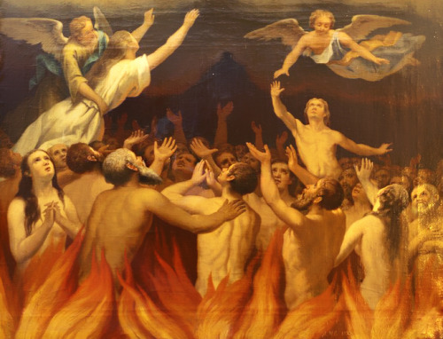 The Poor Souls in Purgatory.