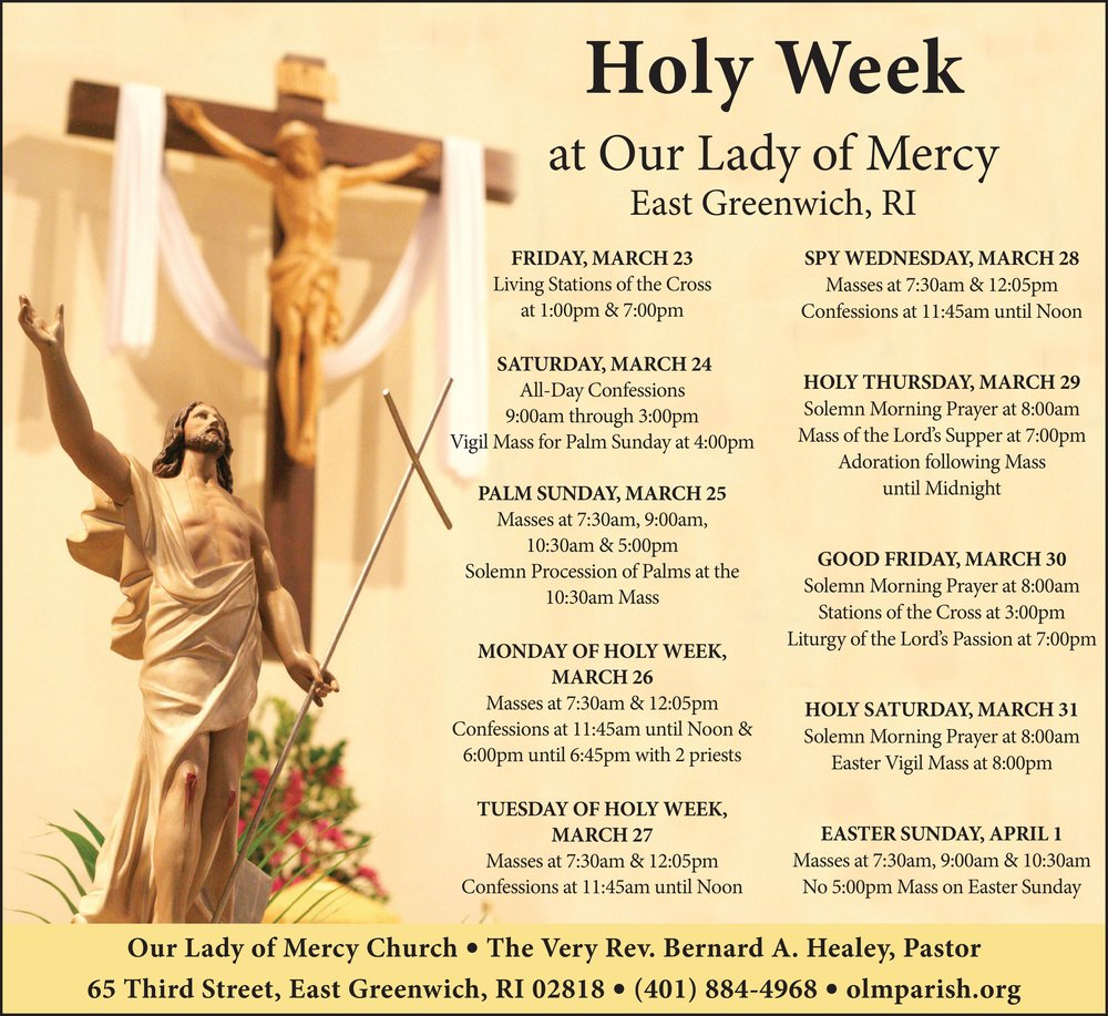 Our Lady of Mercy Holy Week  Easter for 032218.jpg