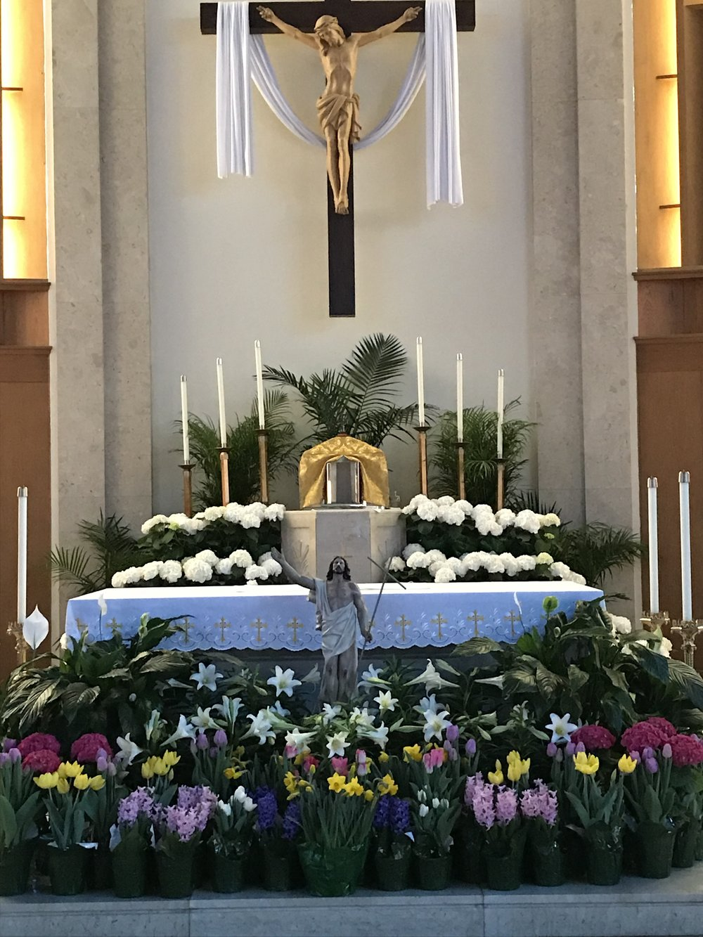 Alleluia, He has Risen!  He has Risen Indeed!