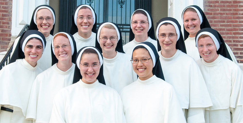 The Sisters of St. Cecilia in Nashville, TN.