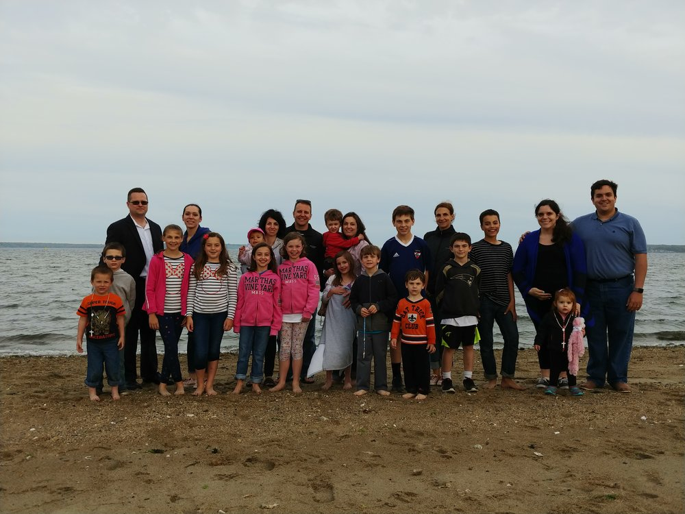 Young Families at the Beach 2018