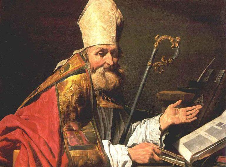 Saint Ambrose, pray for us