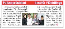- Auch in der Heute Zeitung fand unsere Lesung im Theater in der Josefstadt eine kurze Erwähnung.Zum e-paper geht es hier:http://bit.ly/2txKeo2