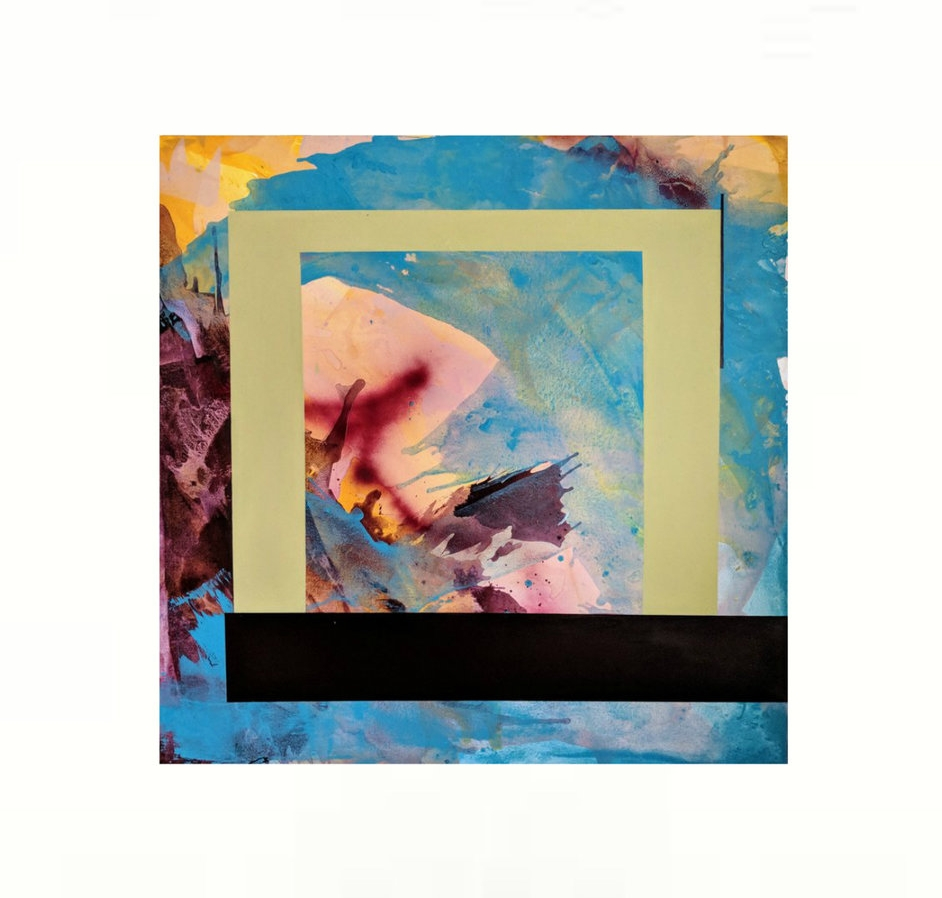 I Opened The Window For Fresh Air - 48x48 - $895