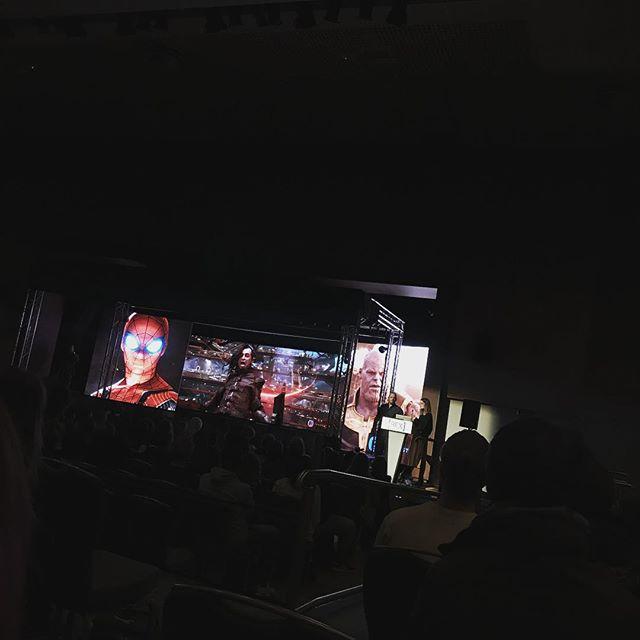 @festivalbfx watching @framestore #vfx