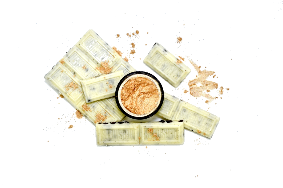 HERCULES | - We're completely chocolate wasted over this Cookies n' Creme Hershey x Hercules collaboration, how about you? Creamy like freshly churned white chocolate, our ivory glazed Hercules highlighter will hit all your sweet spots.