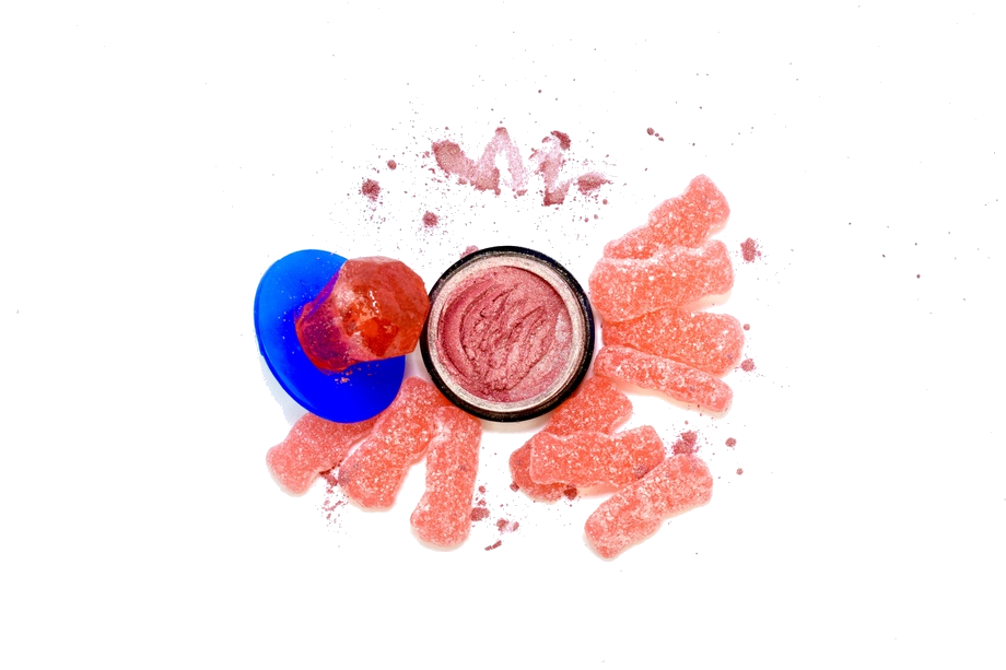 CRONUS |  - Sweet peach toned Cronus x Pink Lemonade Sour Candy is definitely our guilty pleasure! This gorgeous coral colored highlight with golden undertones looks good enough to eat. Go ahead, indulge. (We don't judge)