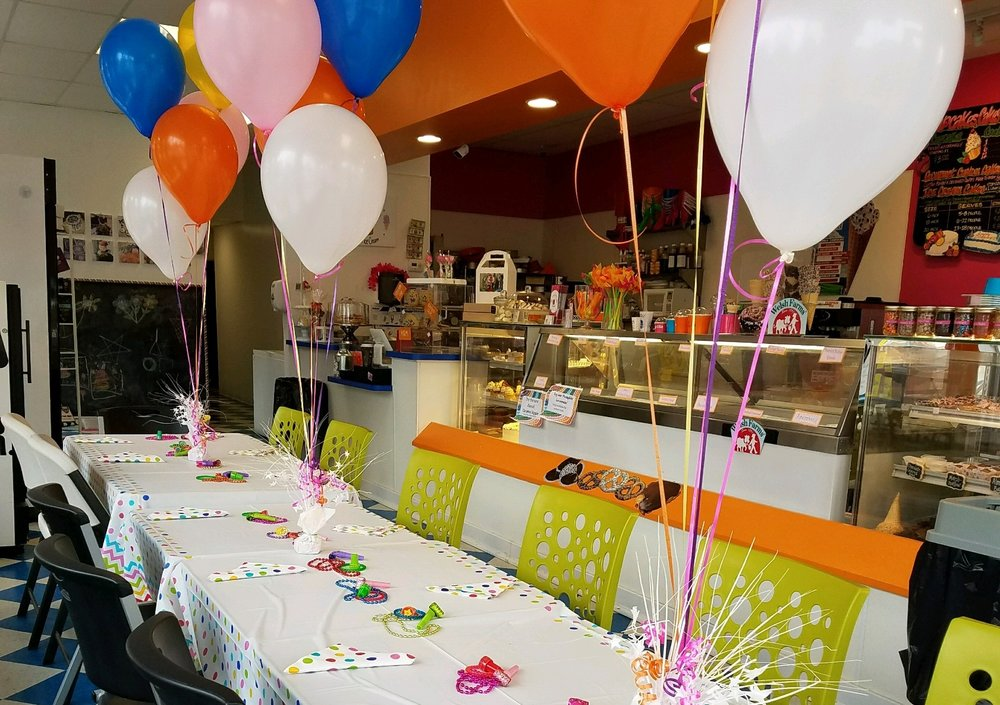 Ice Cream and Cupcake Birthday Parties In Freehold New Jersey