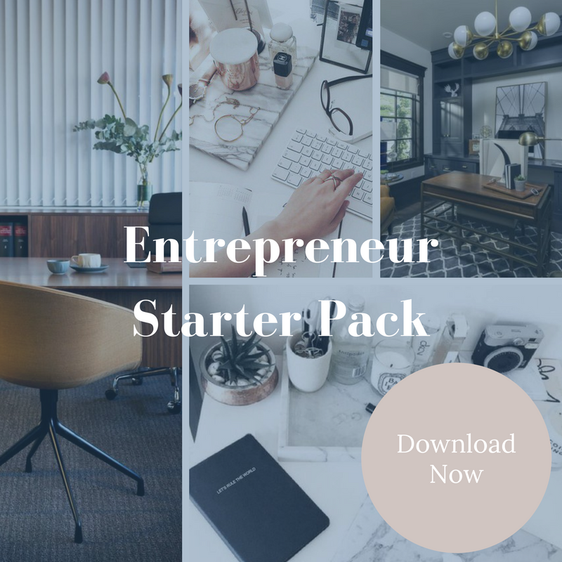 Get our free Starter Pack - Develop a clear vision for your business, find out the essential tools you need to get started, and improve your leadership.