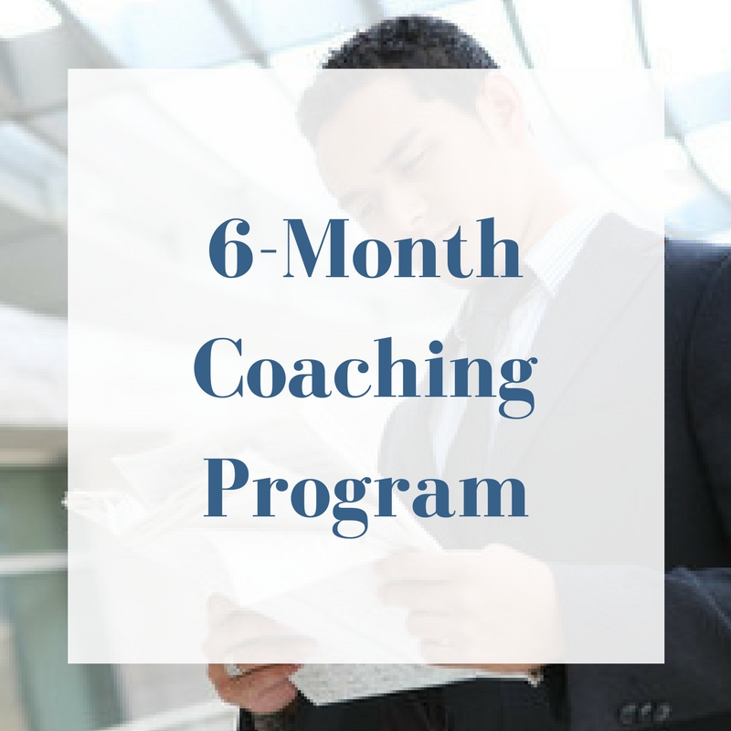 3-month coaching program, plus: - Create a Self-Published Book (to gain market credibility & passive) income - Create and map your personal and company vision, mission, and strategic positioning (can be substituted for another Master Class - 1 Hot Seat session - Custom Selection (select a class from list of offerings)