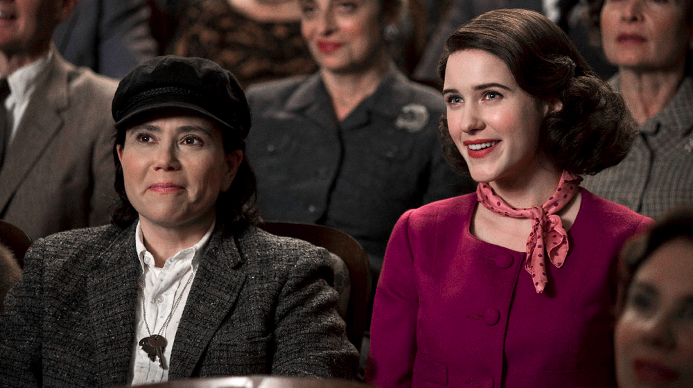 Susie at left, Miriam at right