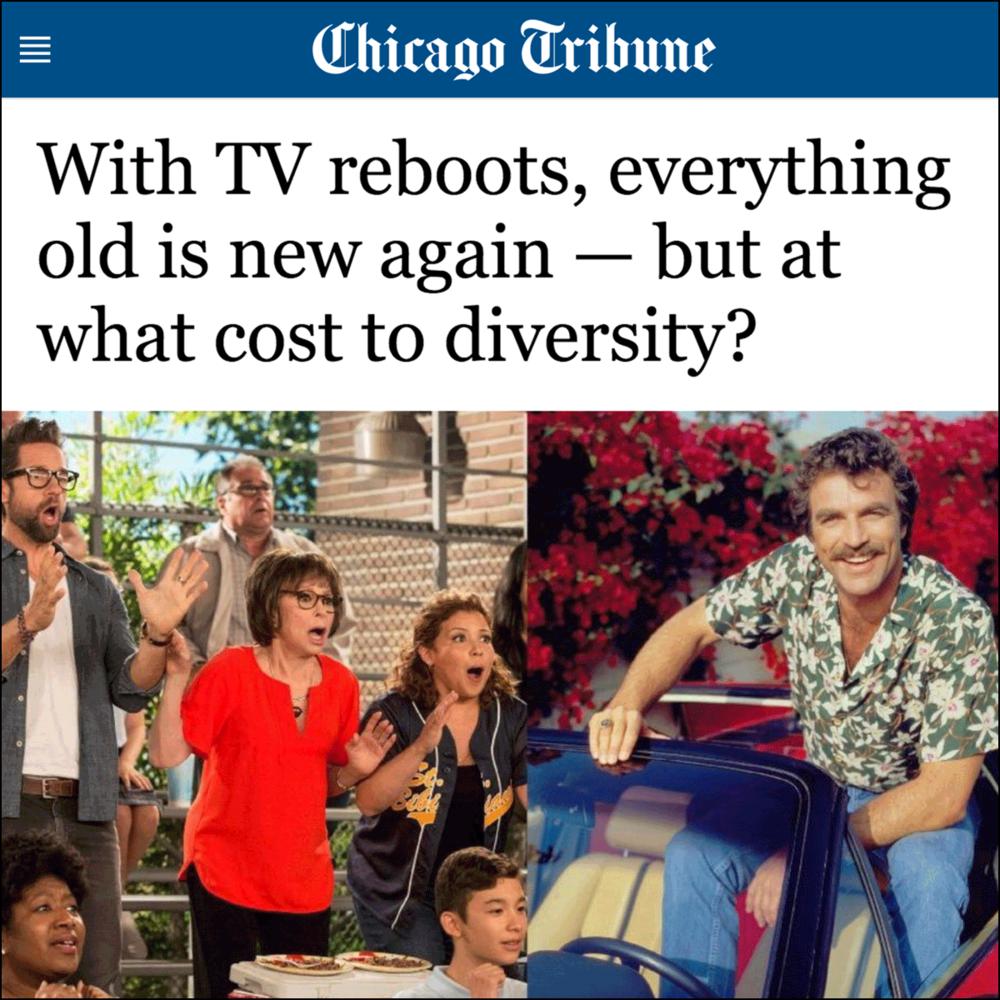 Chicago Tribune    Written by Nina Metz, February 2018