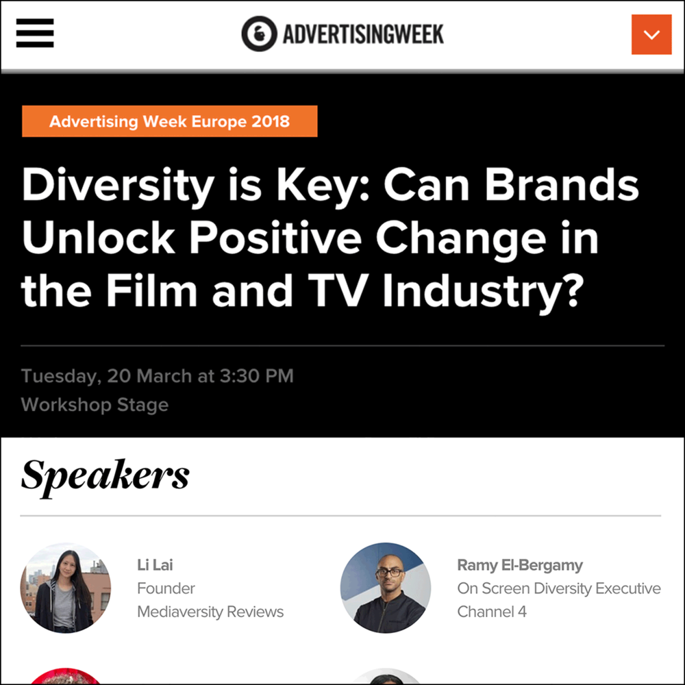 Adweek Europe    Panel hosted by elevenfiftyfive, March 2018