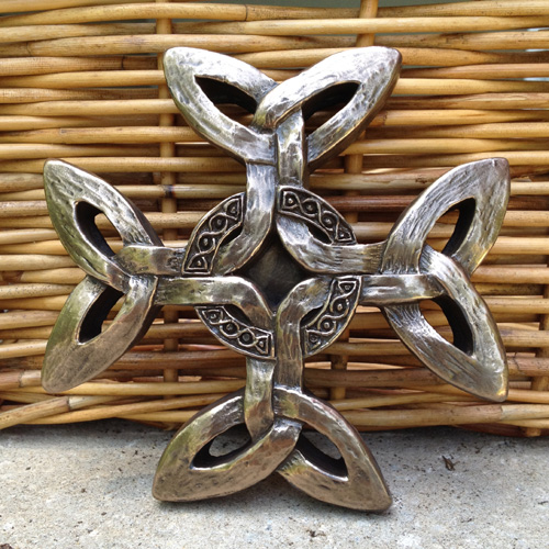 Celtic Creation Cross by The Wild Goose Studio