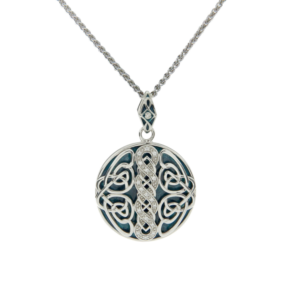 Sterling Silver Norse Knotwork Pendant