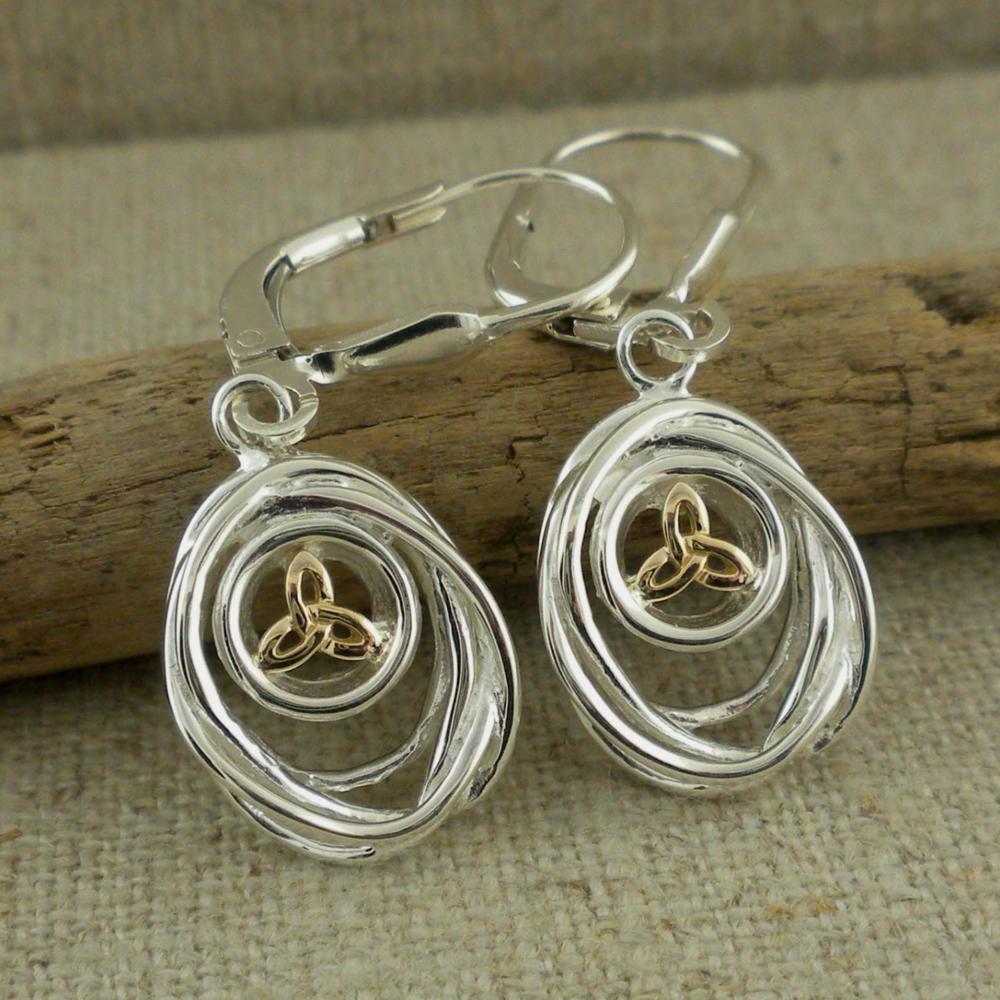 Celtic Cradle of Life Earrings