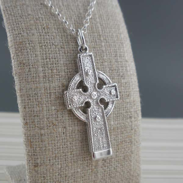 Sterling Silver Ahenny Celtic Cross