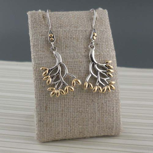 Tree of Life Earrings by Keith Jack
