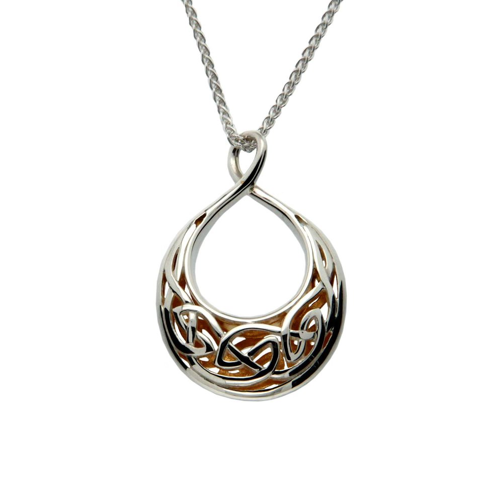 Celtic Window to the Soul Pendant