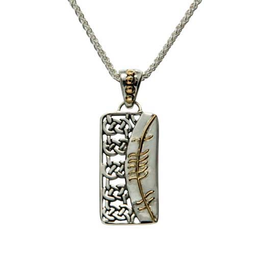 Gra (Love) in Ogham Pendant