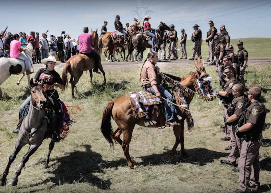 Standoff at Standing Rock