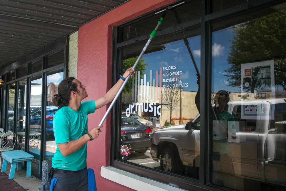 Commercial Window Cleaner - Bentonville, AR