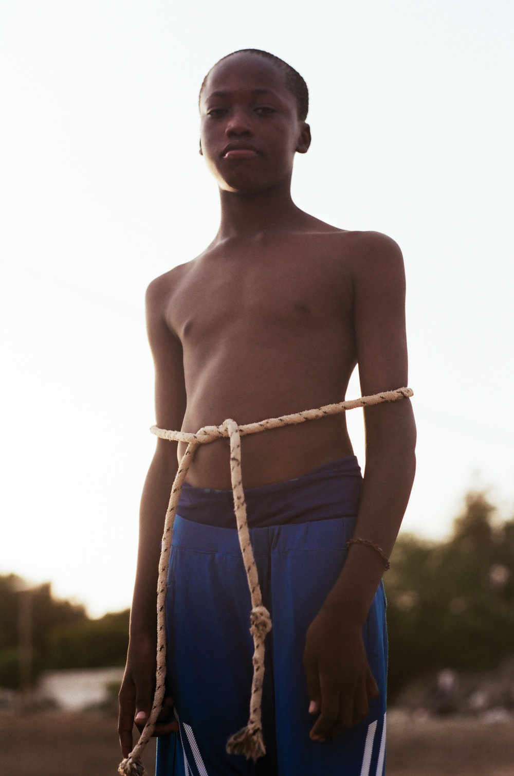 """Boy With Rope""  Dakar, Senegal  2016"