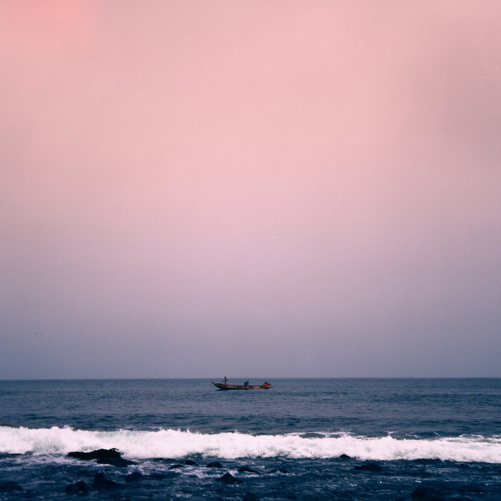 """Pink Sky Fishing""  Dakar, Senegal  2016"