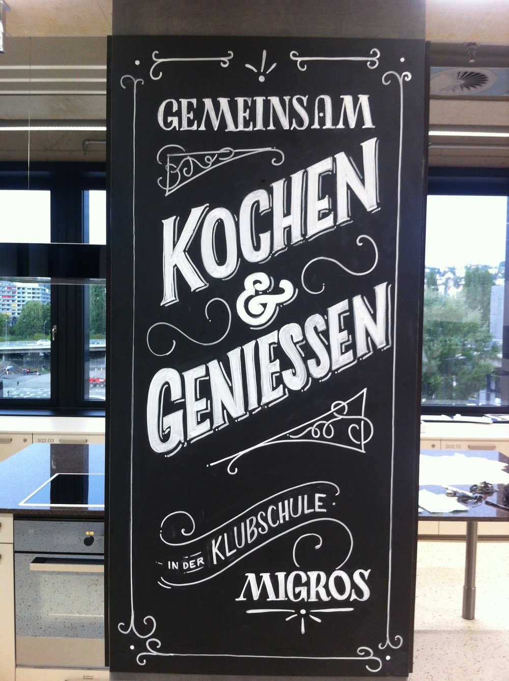 Client: Migros Work: Lettering Year: 2018