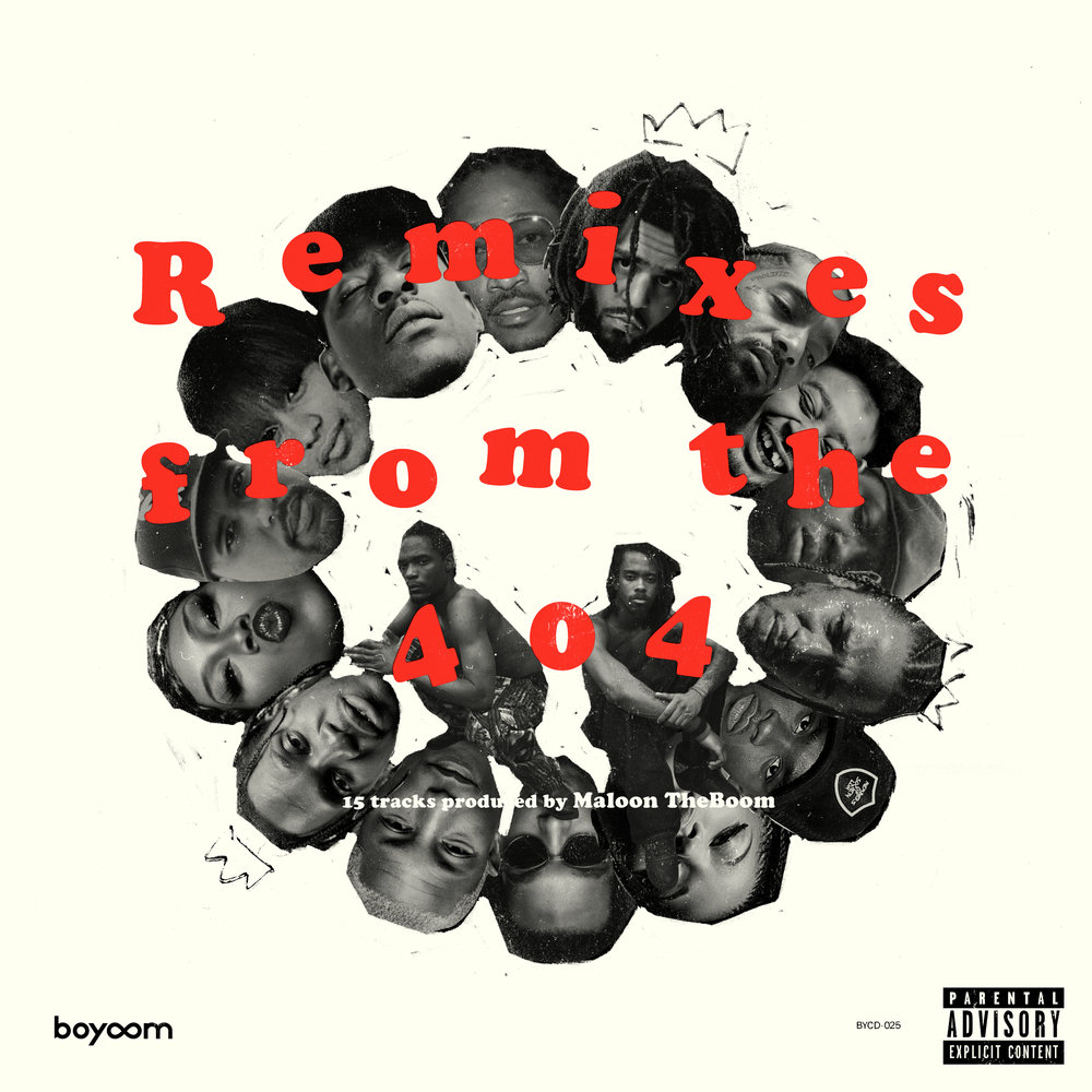 Maloon TheBoom - Remixes from the 404