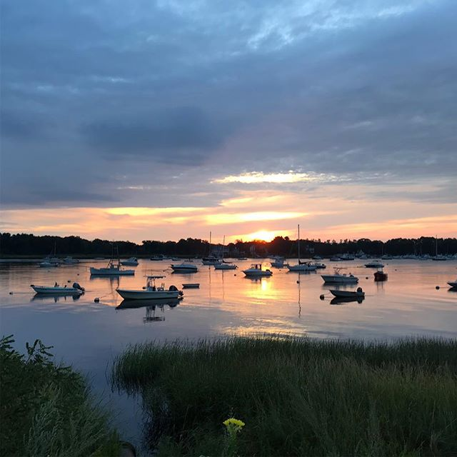 A new day.  #newburyport #endofsummer #sunrise