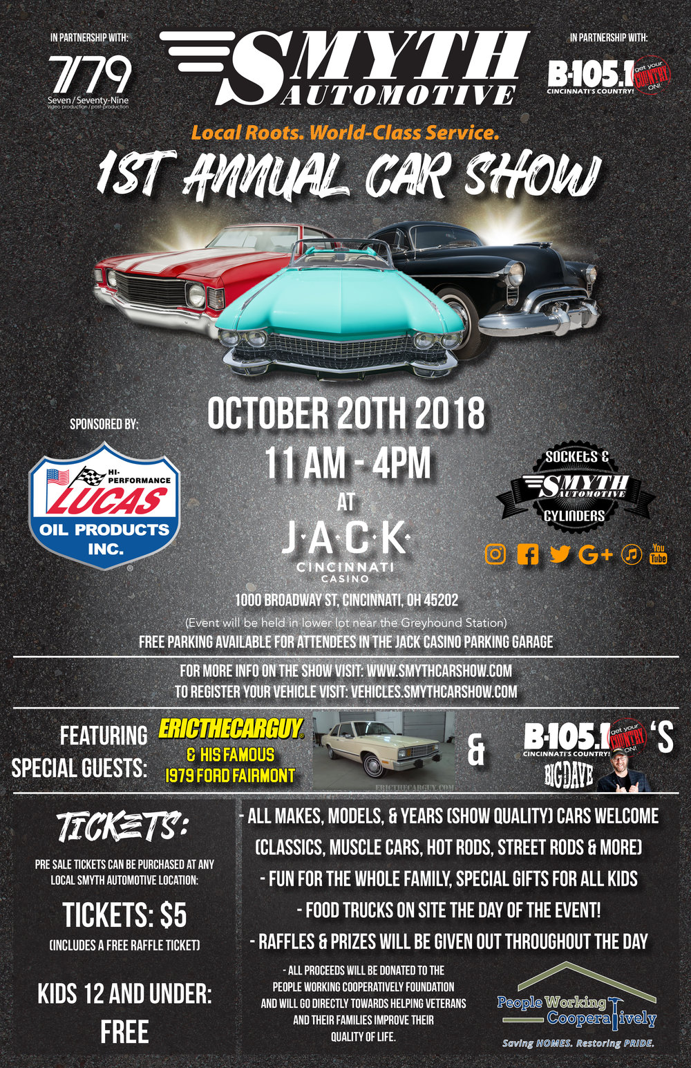 Register at  www.SmythCarShow.com