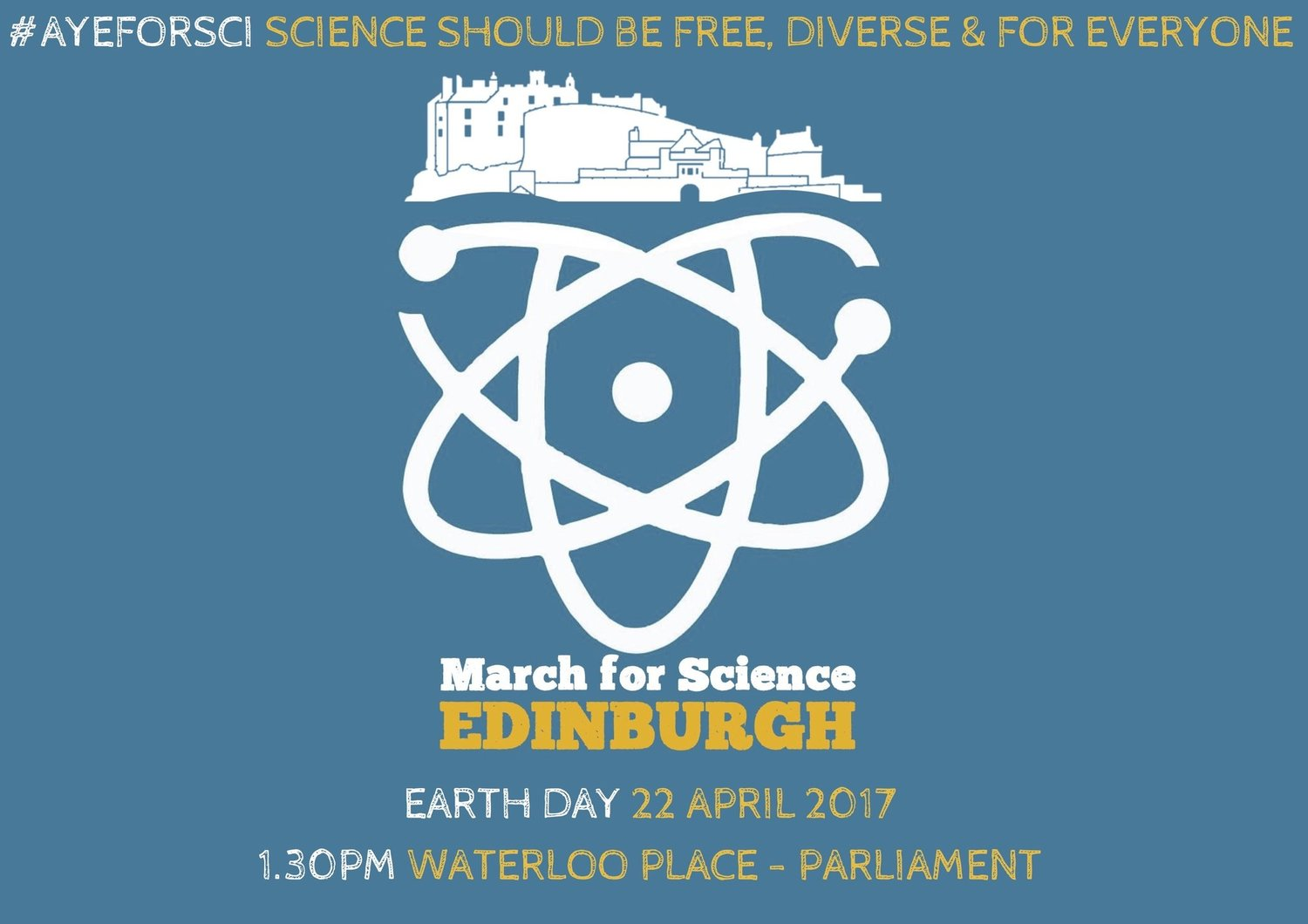 March for Science Edinburgh