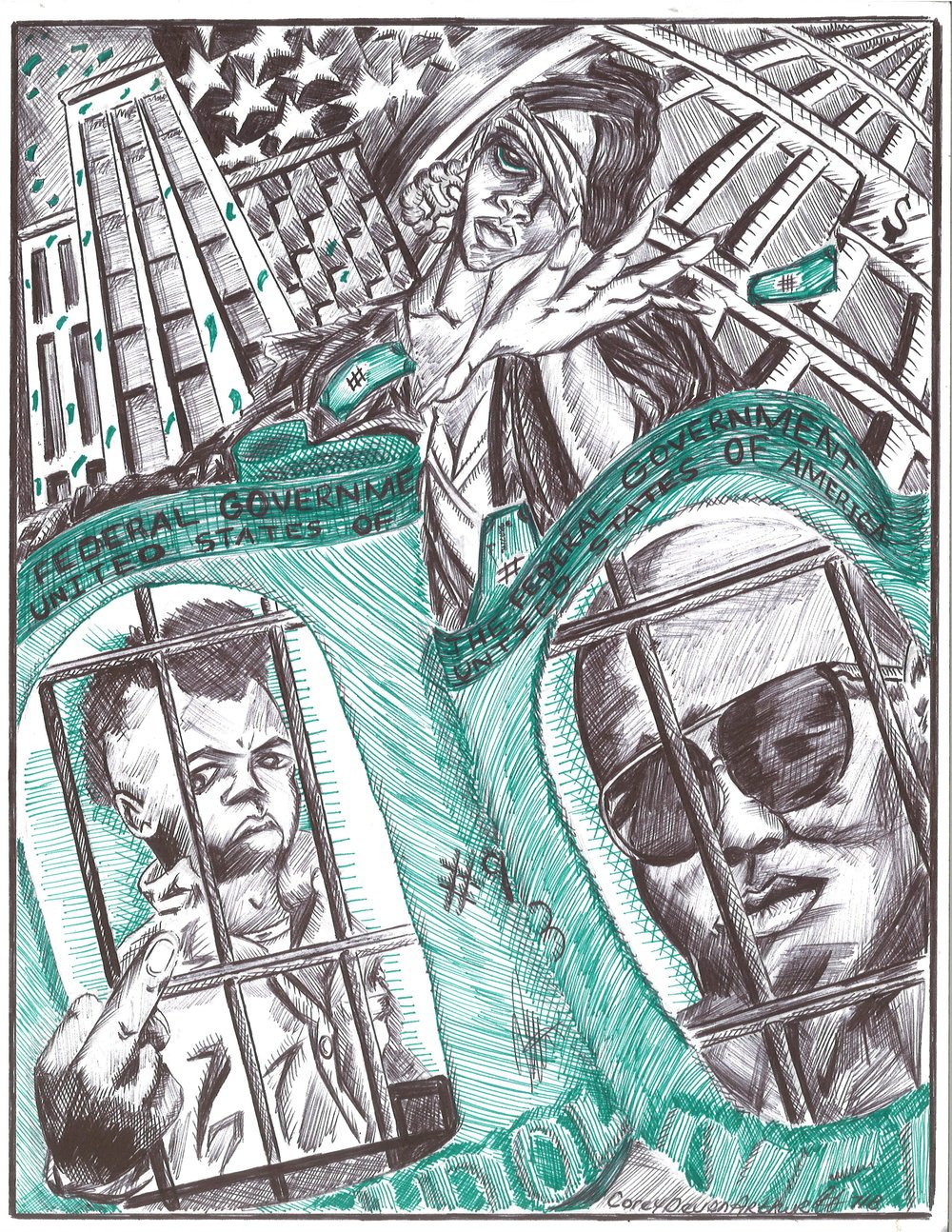 Corey Devon Arthur (Age 40)   Brooklyn, NY   Facility: Fishkill Correctional Facility, NY Sentence: 25 years to Life Time Served: 22 years