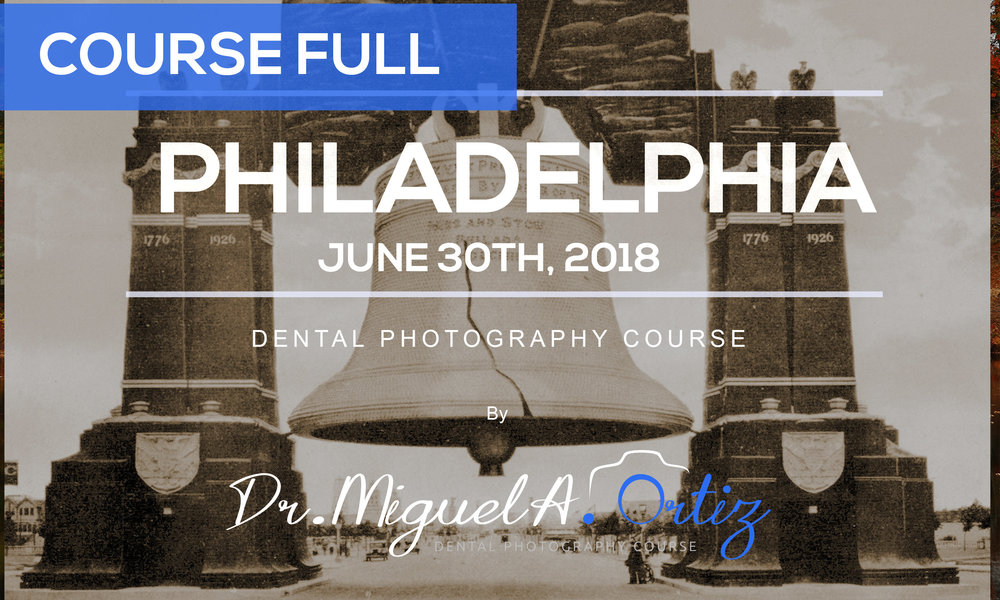 philadelphia dental photography course — dr. miguel a ortiz