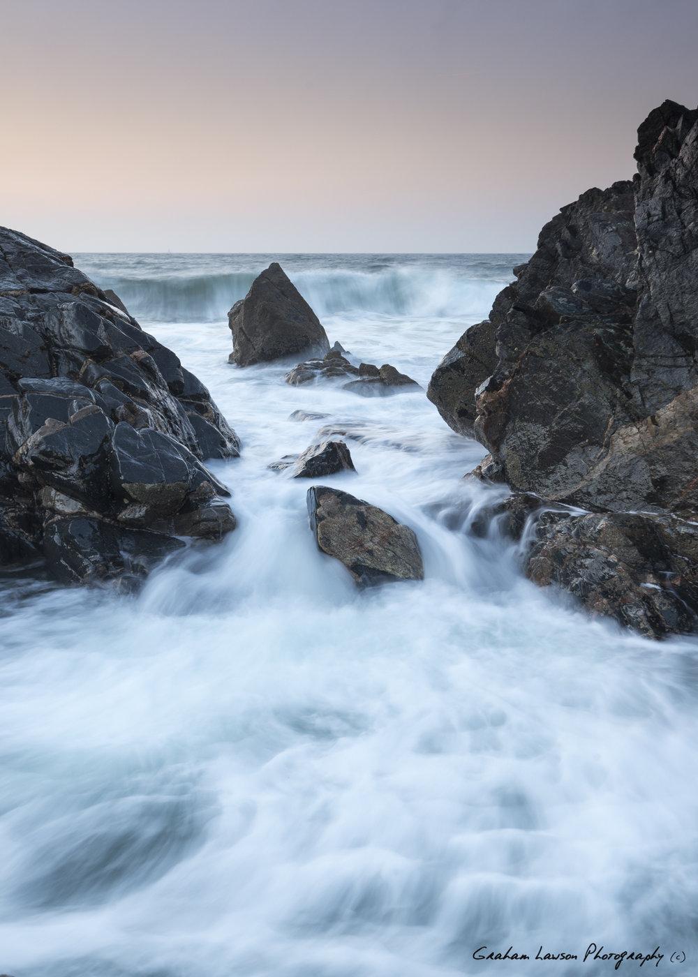 Waves on Kennack Sands