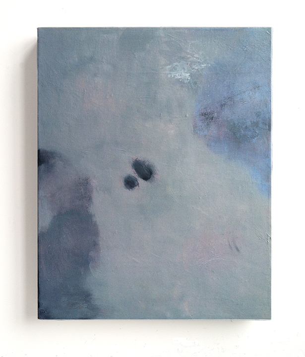 Untitled (memory II), 2014, oil on canvas, 20 x 16 inches