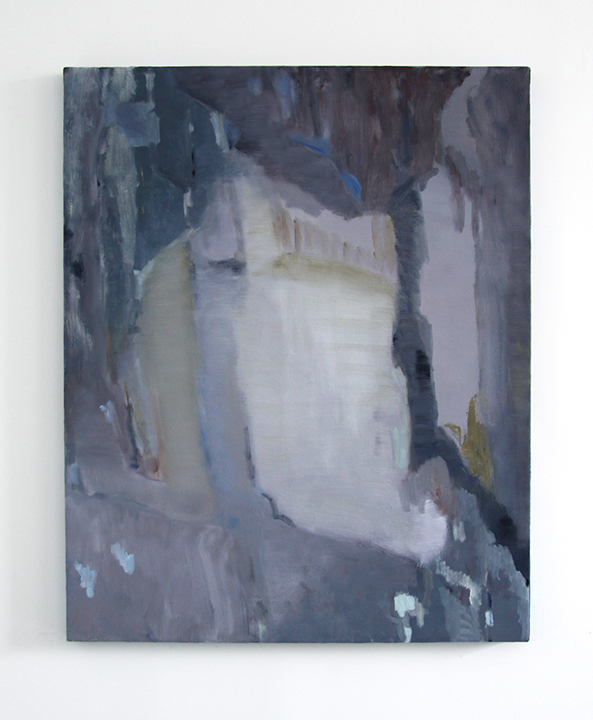 Untitled (On a Dark Night), 2014, oil on canvas, 40 x 32 inches