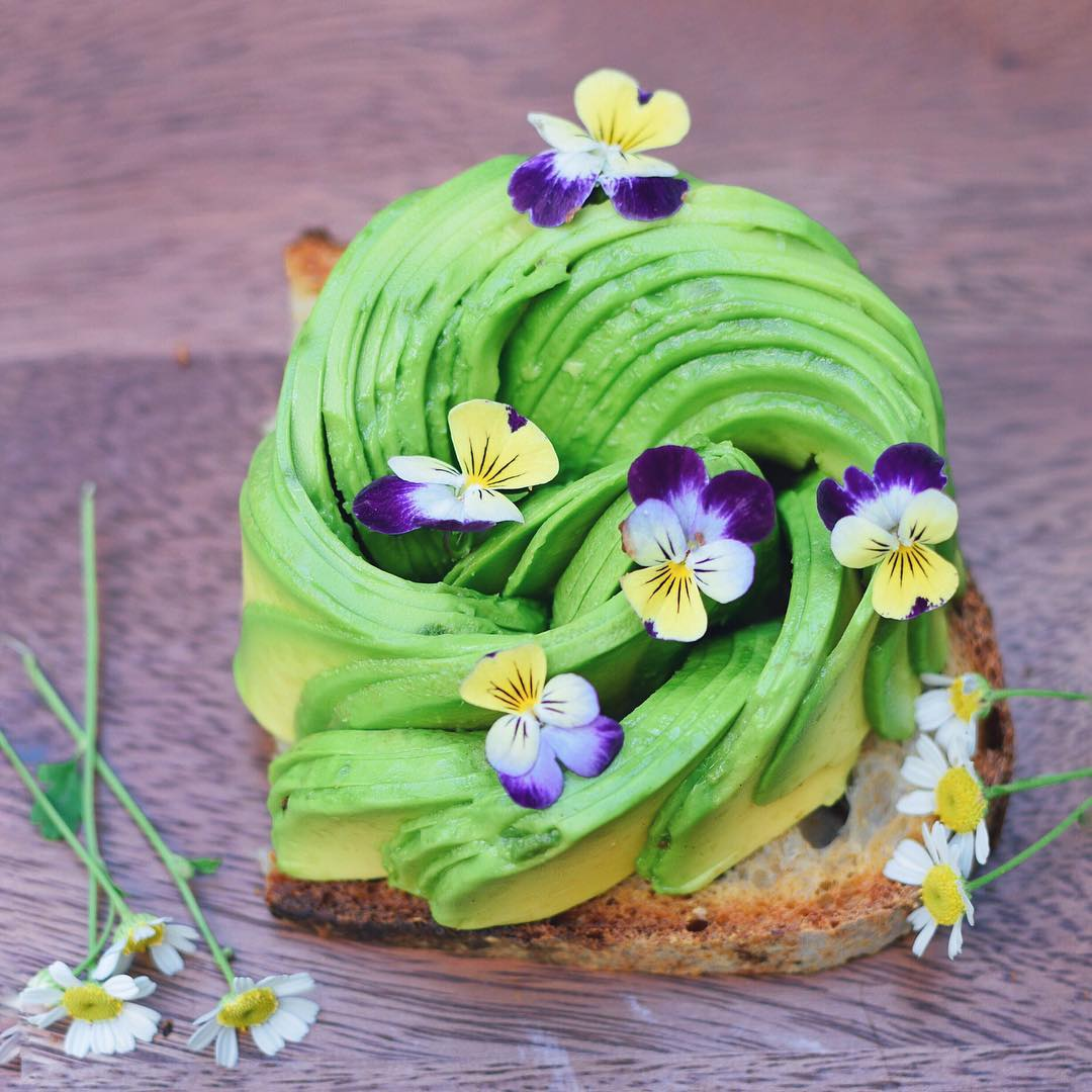 Not watching T.V. = more time for making pretty avocado toast!