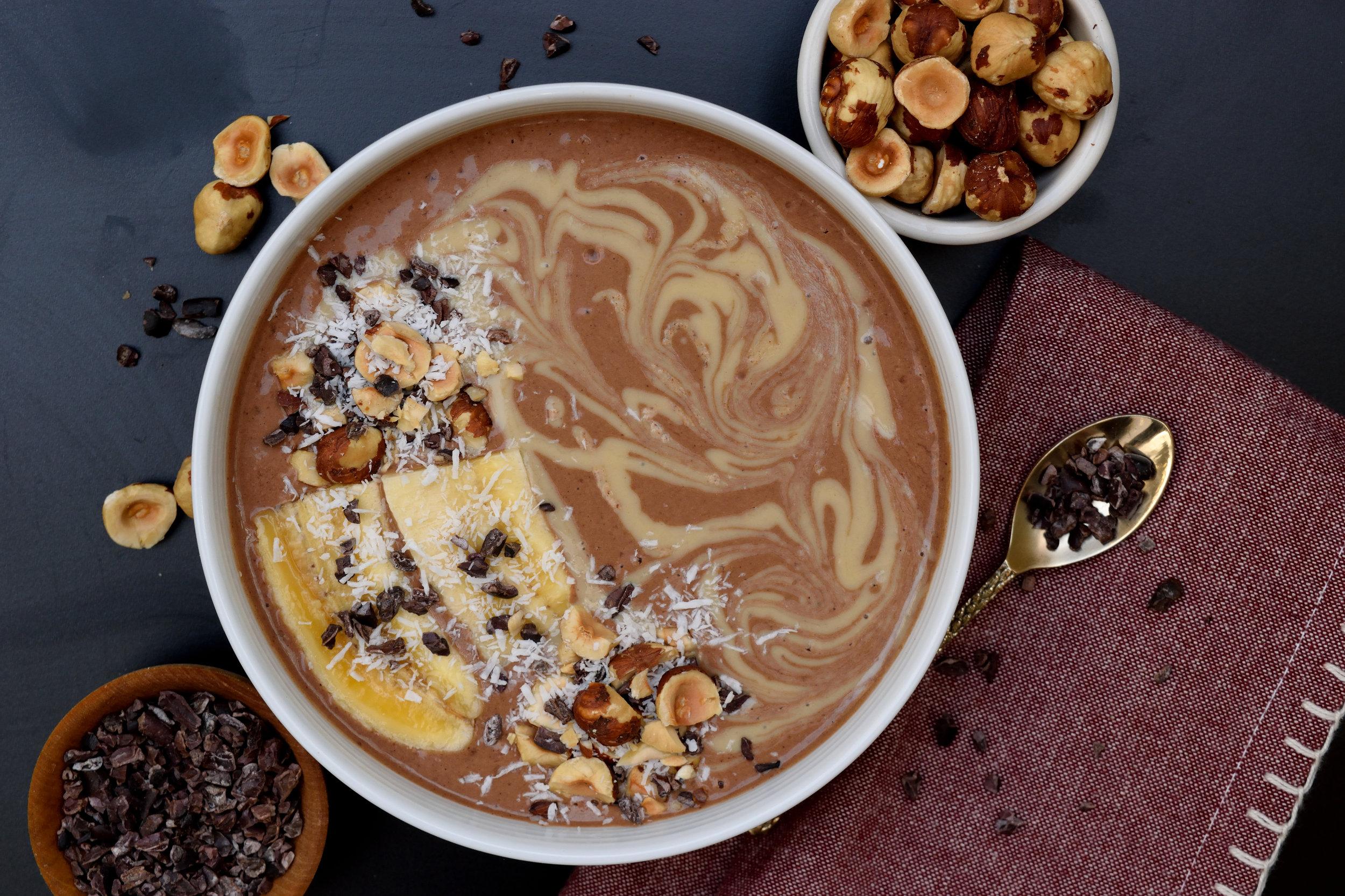 Raw Cacao Smoothie Bowl