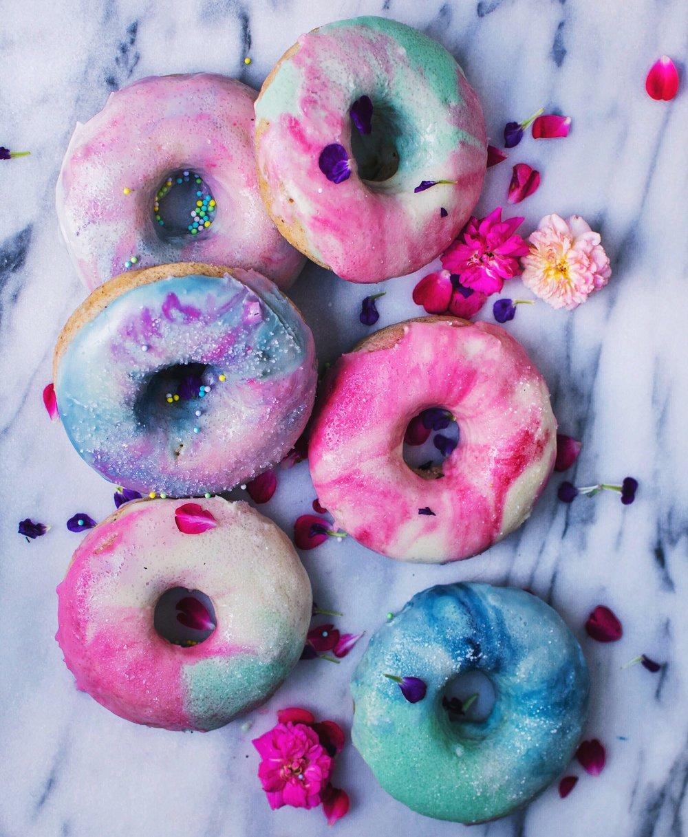 vegan glazed donuts icing