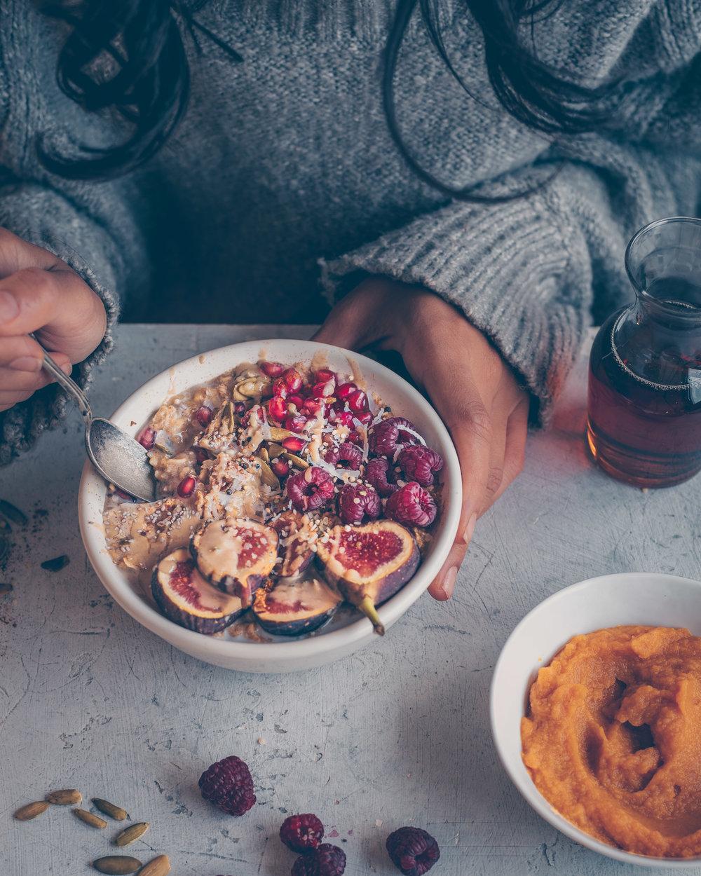 Pumpkin Spice Porridge - Vegan, Gluten-Free