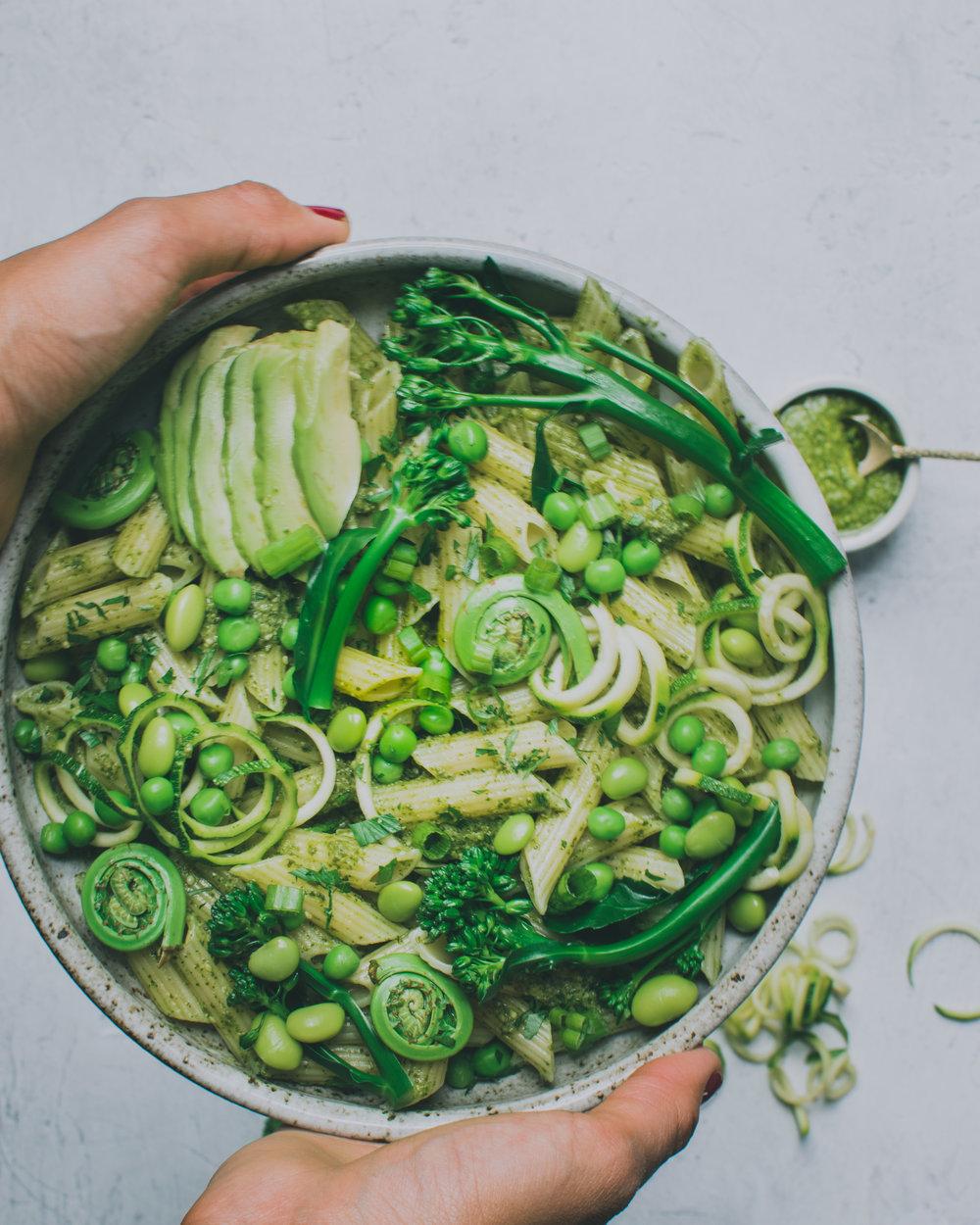 Vegan Pesto - Vegan, Gluten-Free, Paleo