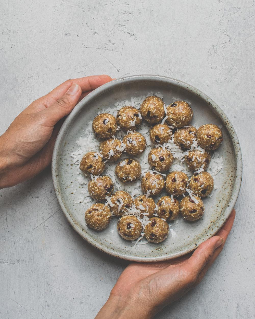 Salted Caramel Cookie Dough Bites - RV, GF, P