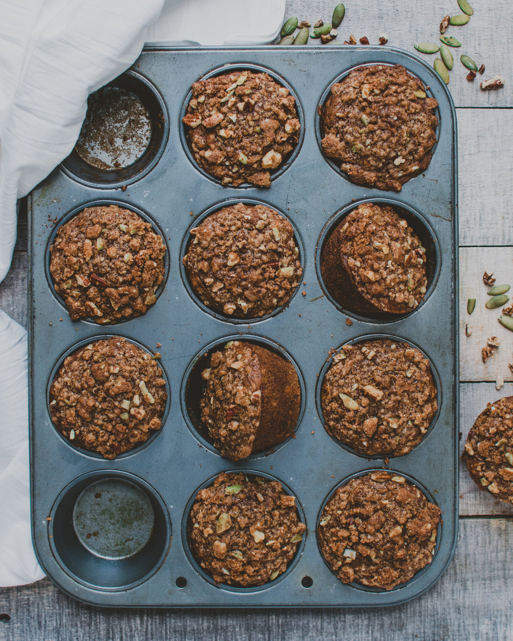 PumpkinSpice Muffins - V