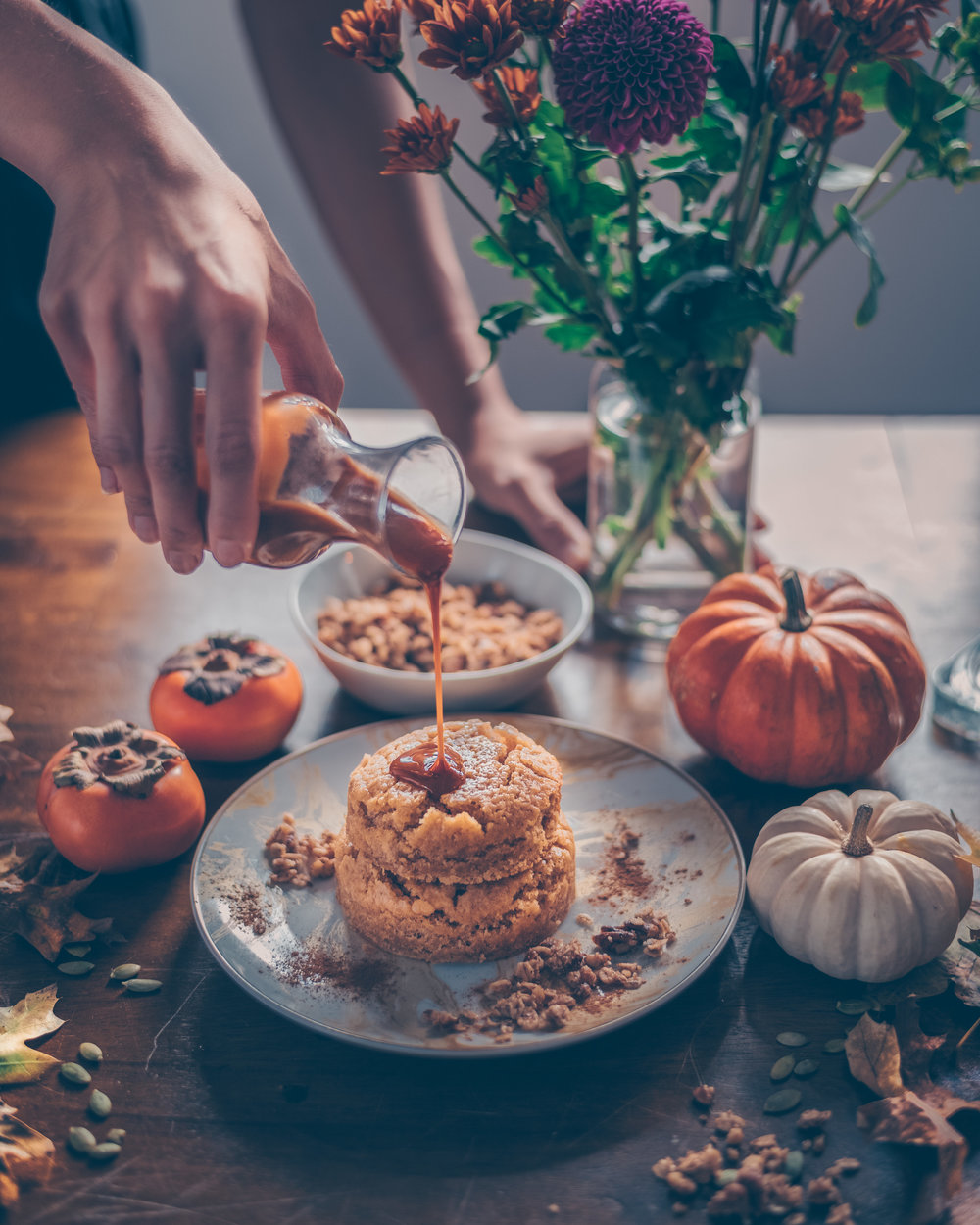 pumpkin cake pouring caramel- edit.jpg