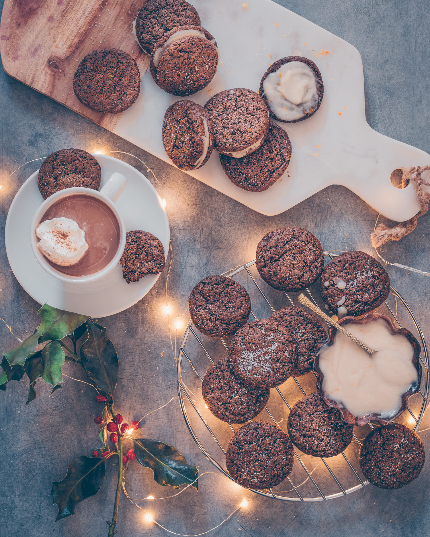Soft Chewy Gingerbread Cookies Vegan And Oil Free Rainbow Plant
