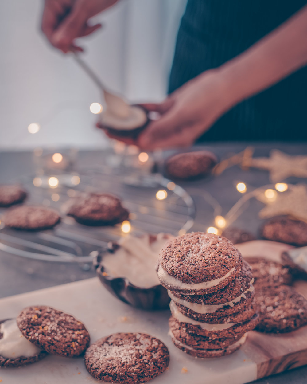 Soft, Chewy Gingerbread Cookies - V