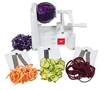 Paderno Spiralizer - inexpensive spiralizer that I use to spiralize veggies